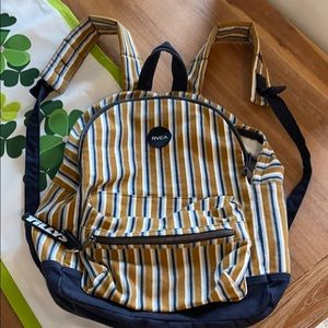 RVCA backpack from Tilly's